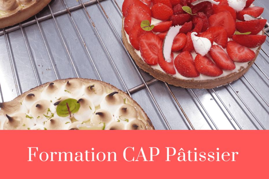 CAP Pâtissier