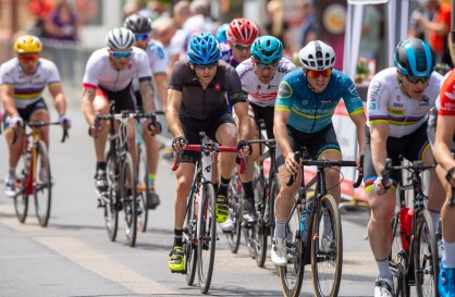 LONGERICH, GERMANY - JUNE 09: Steffen Warias of GER competing at the Race Track - Longericher Hauptstrasse during the Cologne Classic 2019 - Road Races - Strassenrennen on June 09, 2019 in Longerich, Germany (Photo © 2019 Oliver Kremer   https://sports.pixolli.com)