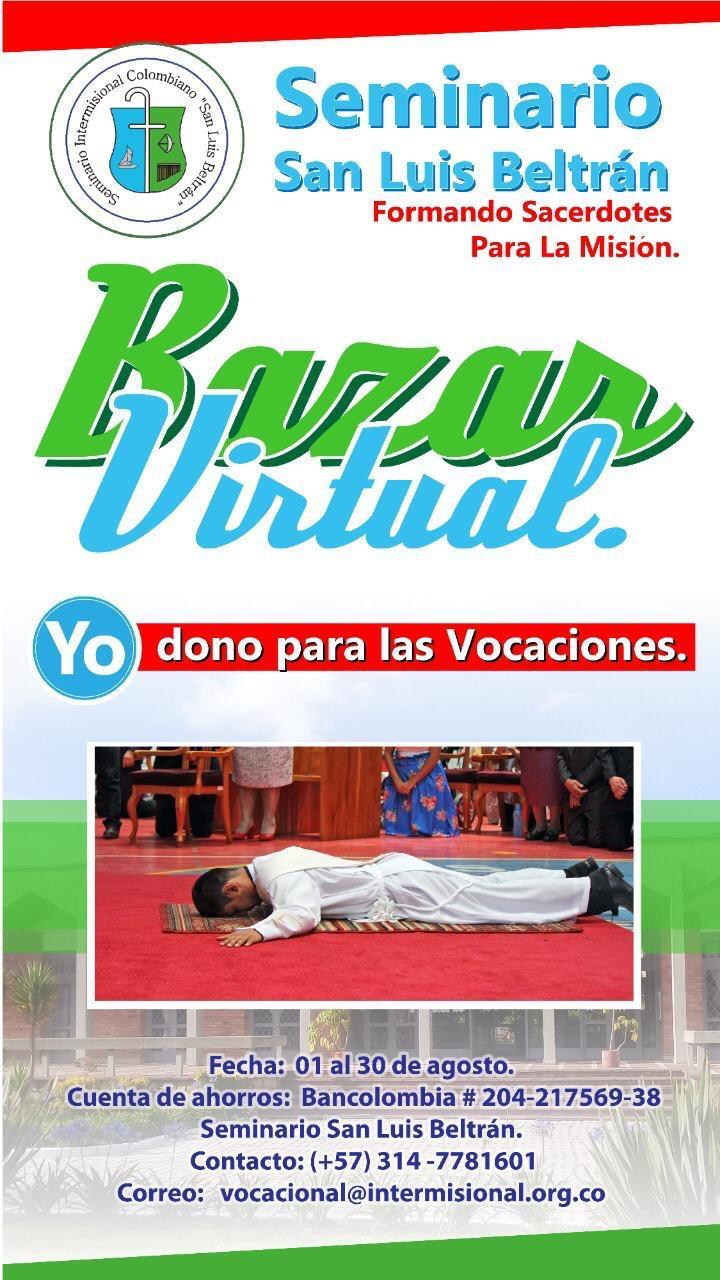 'Bazar Virtual' en el Seminario Intermisional Colombiano San Luis Beltrán