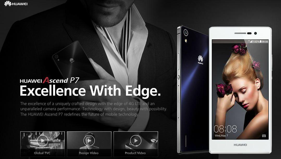 Ascend p7 El Huawei Ascend P7 es oficial, todos los detalles de este nuevo dispositivo