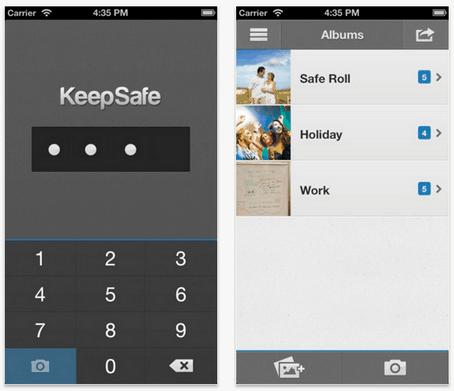 keeps Oculta tus fotos y videos privados de manera sencilla con KeepSafe
