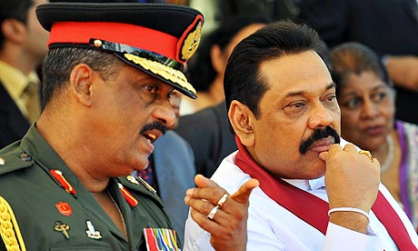 Mahinda&Fonseka Colombo Telegraph
