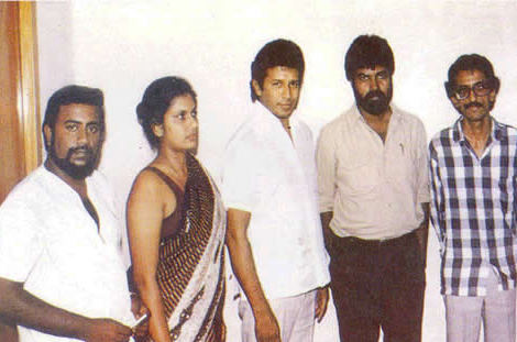 Ossie, Chandrika, Vijaya,Pathmanaba and Kethish