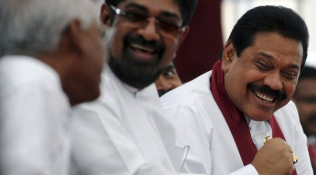 Rajapaksa and Media m Minister Rambukwella
