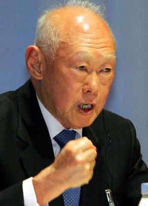 Lee Kuan Yew | Photo courtesy The Age