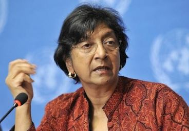 Outgoing UN Human Rights Chief Navi Pillay