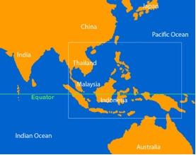 Straits of Malacca: Narrow sea lane between peninsular Malaya and island of Sumatra Choke point for sea routes to Singapore, Thailand, Vietnam, Taiwan, China and Japan.