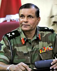 Major General (Rtd.) G. A. Chandrasiri
