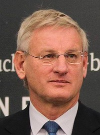 Foreign Affairs Minister Carl Bildt