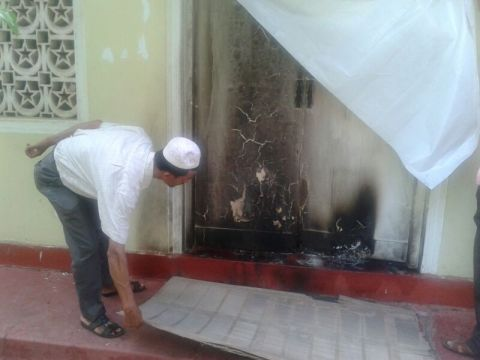 Rathmalana Mosque attack