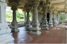 Iraivan Temple Interior View