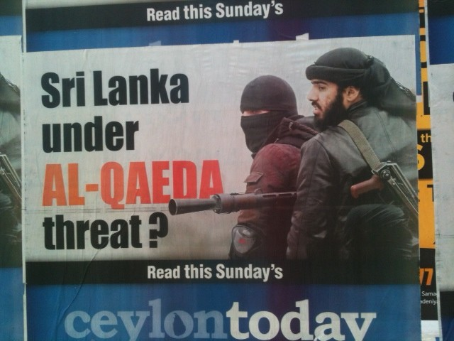 The Term 'Islamic Extremism In Sri Lanka' Is An Impact Of