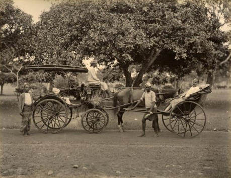 Rickshaw rides were a main attraction for the visiting Australian women in Colombo.