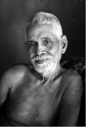 Baghavan Sri Ramana Maharishi (1879 – 1950) [Photograph from Wikipedia]