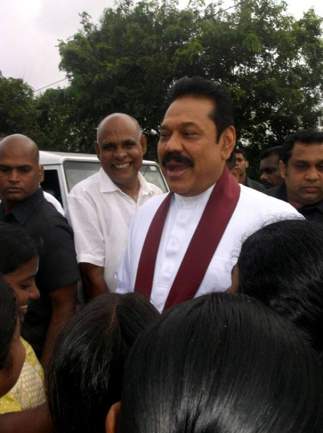 Mahinda and KP