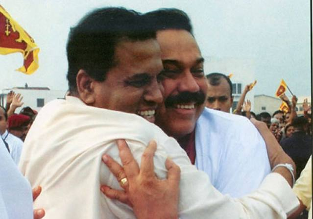 Maithripala and Mahinda| File photo