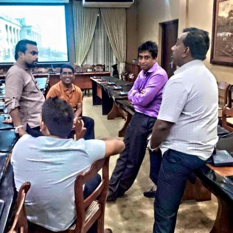 We see Johnston, Yapa, Dullas, Wimal, Gnanasara and a few others in the same calibre as leaders of the battle plan.
