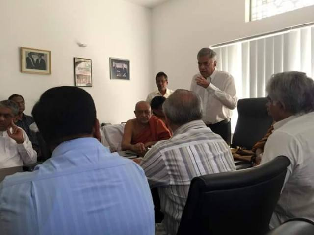 Ranil after elections 2015