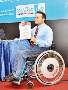 Dr. Ajith Perera - Campaigns for the Democratic Right for Inclusion