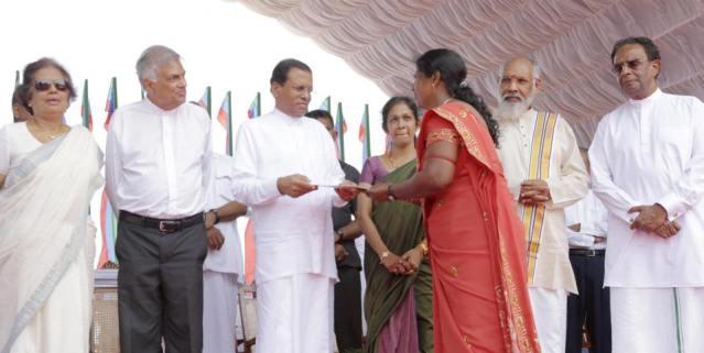 Maithri Jaffna 23 march 2015