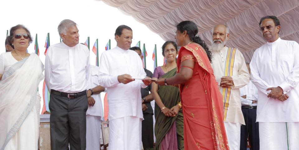 Govt Releases 425 Acres Of Former HSZ Jaffna Lands To Its Rightful