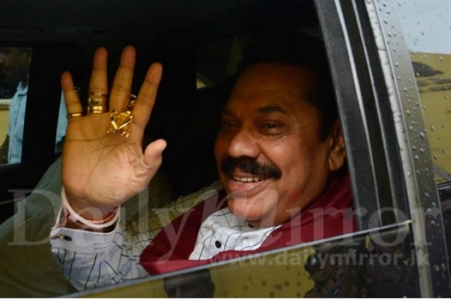This Picture Of Mahinda Says Thousand Words – Colombo Telegraph