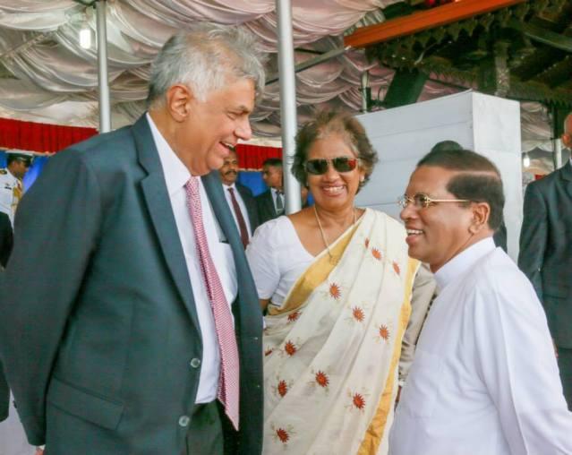 Ranil Chandrika Maithripala