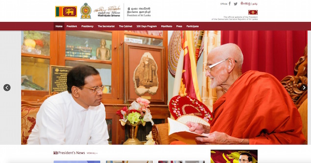 Maithripala President.lk 10 June 2015