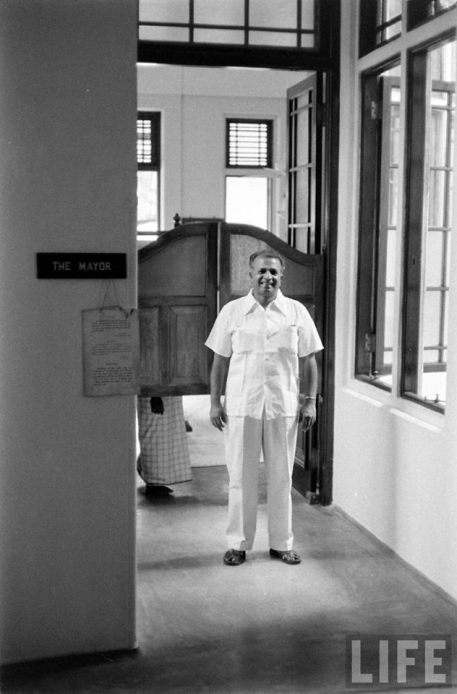 A LIFE magazine image of the former Finance Minister Dr. N M Perera. Photo Credits - James Burke