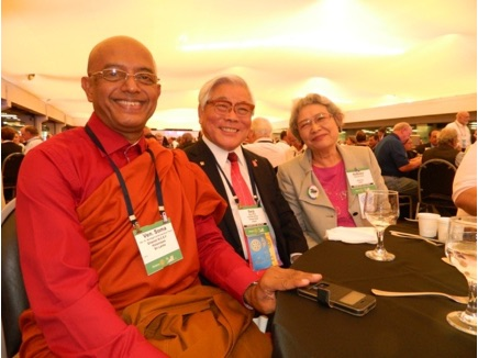 Ven. Somawansa Thero - Governor Nominee – RI Convention in Sao Paulo, Brazil (June 2015) Source: http://www.rotarycolombo.blogspot.com/