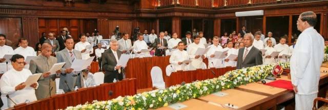 Maithripala Cabinet 2015
