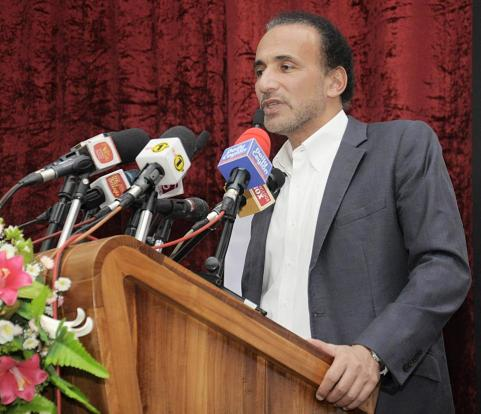 Tariq Ramadan, at 18th annual commemorative lecture of the late Speaker of the Parliament of Sri Lanka M.A Bakeer Markar,21st September 2015.