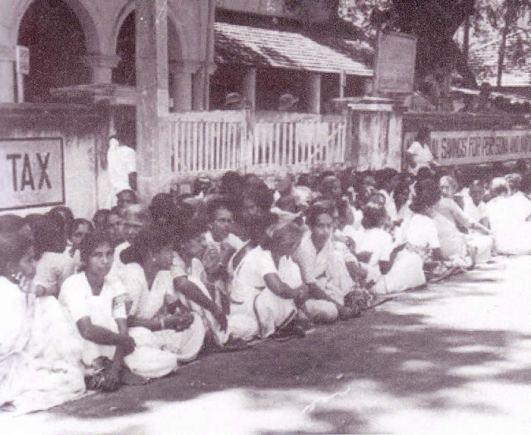 protest Jaffna women
