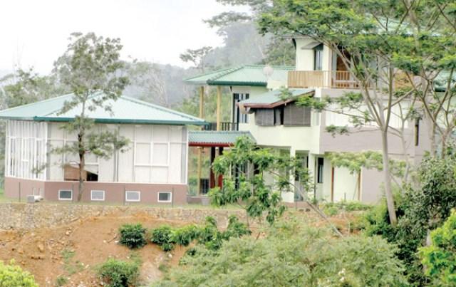 Mahinda Rajapaksa's Deniyaya house