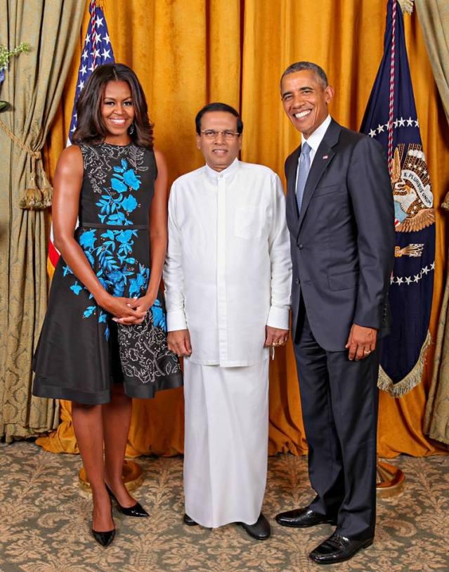Maithripala Obama