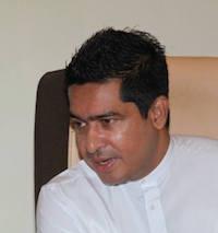 State Minister Sujeewa Senasinghe
