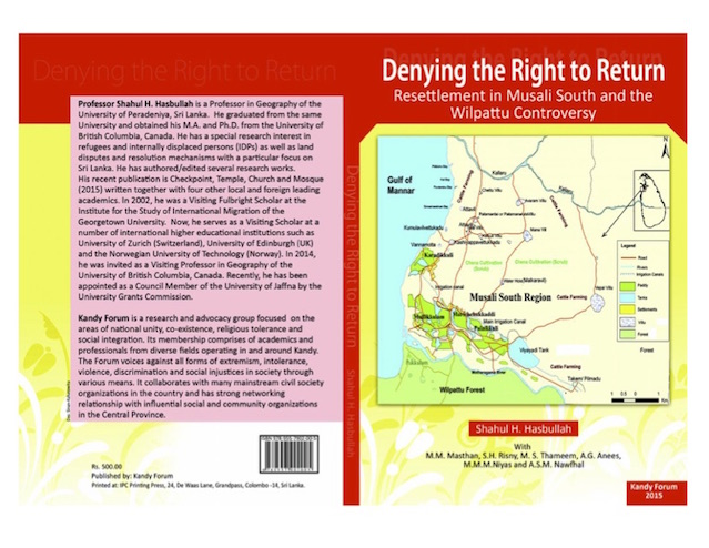Denying the right to return by Hasbullah