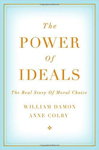 William Damon & Anne Colby's                                                       'The Power of Ideals: The Real Story of Moral Choice',                  Oxford 2015.