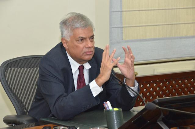 Ranil Wickremesinghe Colombo Telegraph