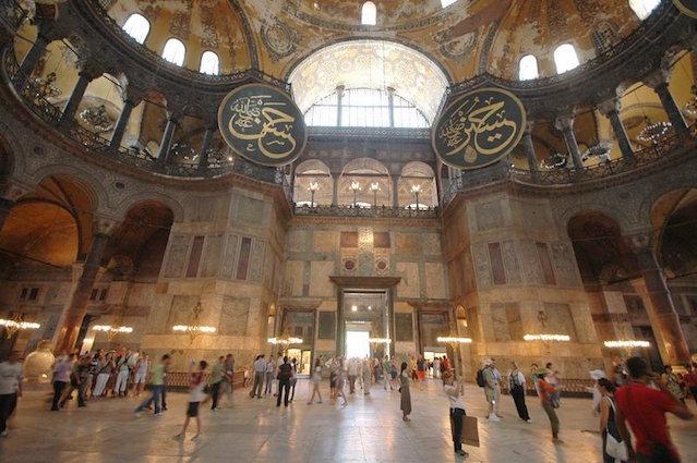 Aiya Sophia in Istanbul