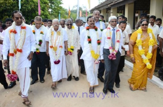 CM Nazeer at the event in March (blue tie)