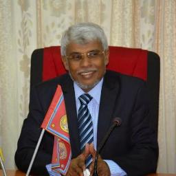 Chief Minister of Eastern PC Nazir Ahamed