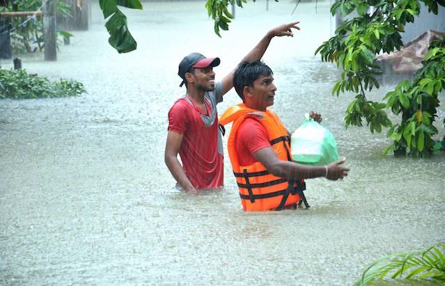 JVP Flood support 2016