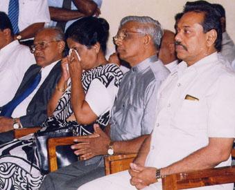 Kusumsiri balapatabendi and chandrika , Athula and Mahinda