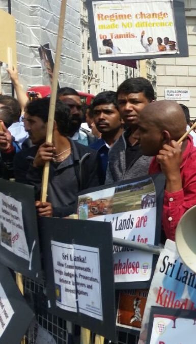 Protest against Maithripala