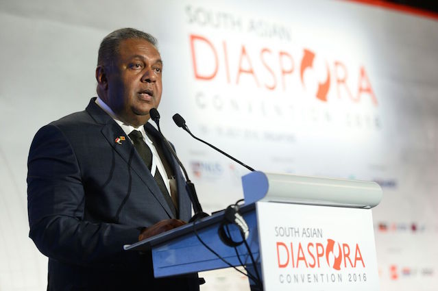 Minister Mangala Samaraweera's speech at the South Asia Diaspora Convention, Singapore Pic by MS' media