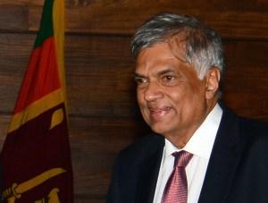 Prime Minister Wickremesinghe