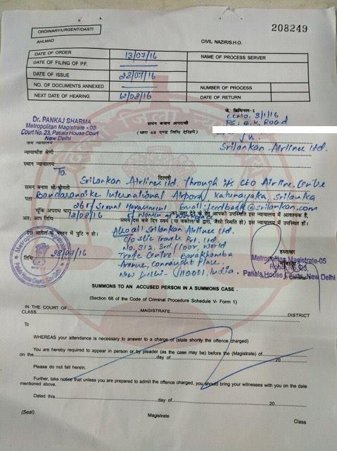 SriLankan-Airlines-summons-sexual-harrassment-New-Delhi