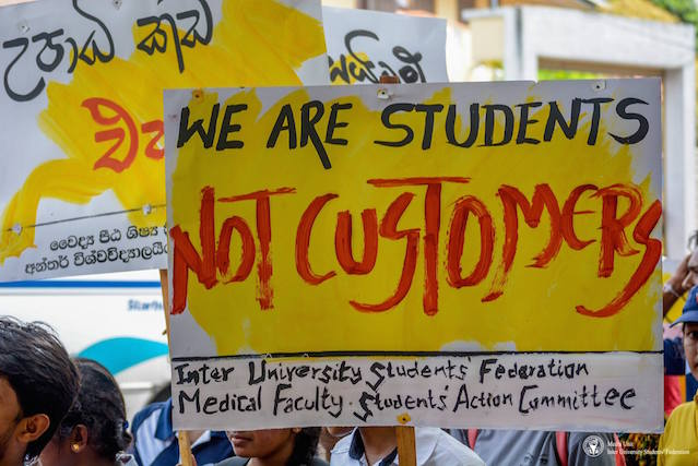 Students' protets