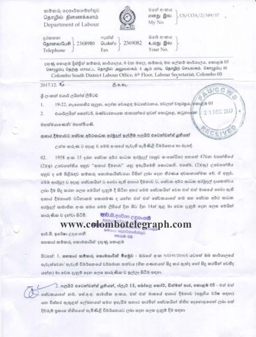 SriLankan Airlines: Flight Attendants To Get Billions In EPF Back